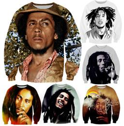 $enCountryForm.capitalKeyWord NZ - Hip Hop Hip Hop Hoodies for Men Women 3D Sweatshirts Funny print Bob Marley Smoking casual Tops Long Sleeve Tracksuits Pullover Hoodies