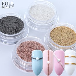 $enCountryForm.capitalKeyWord Canada - 0.4mm 3D Micro Steel Beads Mixed Color Nail Art Decorations Mini Small Caviar DIY Charms Stud Manicure Accessory Nail Tool CH829