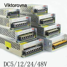 Viktorovna Reguliert Schaltnetzteil AC zu DC 5 V 12 V 24 V 48 V AC / DC Adapter LED Beleuchtung Transformator LED Streifen Licht CCTV