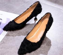 $enCountryForm.capitalKeyWord Canada - Free send 2018 new style pointed end High-heeled shoes Women's Korean Fine heel