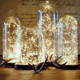 Craft string lights online shopping - Copper Wire LED light decor Wedding Decoration LED string lights Corker String Fairy Lights for Glass Craft Bottle