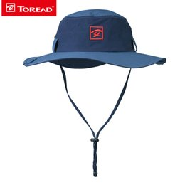 cb68399858d Toread Fishing Hats for Men Outdoor Sport New Breathable Travel Hiking Sun  Protection Hats Fast Drying Wide Brim Hiking Hat