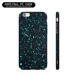 $enCountryForm.capitalKeyWord UK - Popular Colorful Paint Case Girls Series Cell Phone Case Shockproof Protective Cases For iPhone 8 Plus 7 Plus 6 6S Black