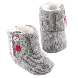 China TELOTUNY warm baby booties children's winter boots for Girls botte fille newborn shoes C0419 cheap flat shoes crystals suppliers