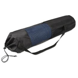 Mattress Bag Wholesale UK - Popular Yoga Pilates Mat Mattress Case Bag Gym Fitness Exercise Workout Carrier