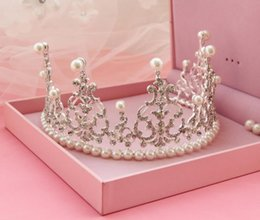 $enCountryForm.capitalKeyWord NZ - Wedding dress, pearl water drill and crown bridal bridal dress accessories