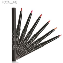 $enCountryForm.capitalKeyWord NZ - Focallure 19 Colors lipliner Pen Professional Pro Waterproof Contour Lips Stick Women Sexy Matte Lipstick Pencil Makeup Tools