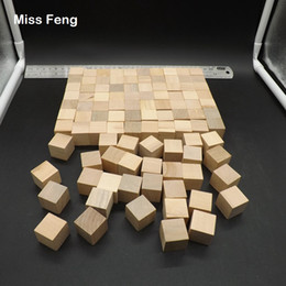 $enCountryForm.capitalKeyWord Australia - 100 pcs Blocks Wood Cube 2 cm Game Novelty Gadget Early Head Start Training Toys Kids Gifts