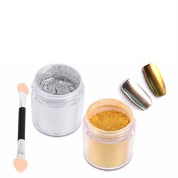 $enCountryForm.capitalKeyWord UK - Nail Glitter Powder Dust Chrome Mirror Metallic Effect Nail Art Pigment Manicure Tips Gel Polish With Brush Glitter Powder