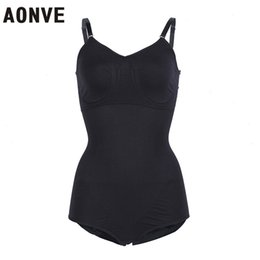 abe35ada1 AONVE Body Shaper Sexy Bodysuits Push Up Bra Slimming Underwear Bodysuits  Butt lifter Hip Up adjustable slim bodysuit Shaperwear