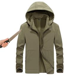$enCountryForm.capitalKeyWord Canada - Tactical gear anti-cut knife cut-resistant clothing anti stab-proof jacket coat security clothing water proof hooded men jacket