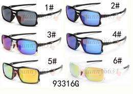 Discount wind sunglasses - 10pcs summer men riding sunglasses women Outdoor sport cycling sun glasses goggle fashion sun glasses Wind glasses 6COLO