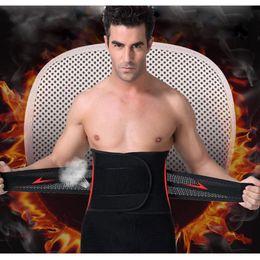 body magic waist corset shaper 2019 - Men Adjustable Waist Training Cincher Belt Fitness Waist Support Body Shaper Belly Corset with Burning Fever Lingerie Ma