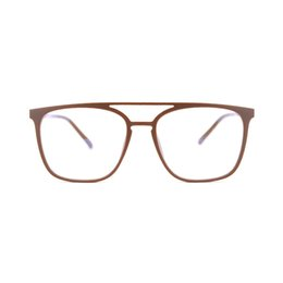 6049542b746 Retro Men s Square eyewear Black Cheap TR90 Memory Optical Clear Frame  Glasses Fashion Blue coating Eyeglasses TR1691 Discount