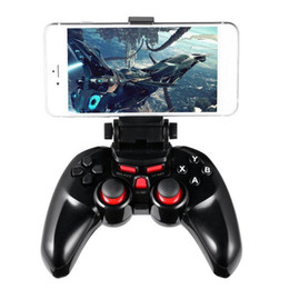 $enCountryForm.capitalKeyWord Canada - Wireless Android Bluetooth Gamepad DOBE Game Controller Joystick For Android iOS PC with Cell Phone Holder Gamepads