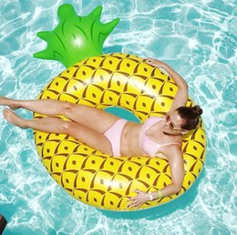 $enCountryForm.capitalKeyWord NZ - INS Beach Party Hot Large Small Pineapple Swim Ring New Adult Inflatable Pineapple Swim Ring Lifebuoy