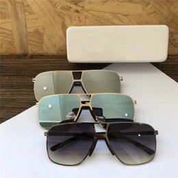 Mirrored light boxes online shopping - New Luxury MYKITA Sunglasses Pilot Frame with Mirror Lens Ultra Light Frame Memory Alloy Sunglasses Hand made With Original Box