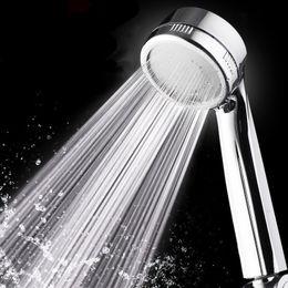 bathroom faucet wholesale 2019 - PVIVLIS Shower 30% Water Saving Shower Head Bathroom Faucet Pressure Boost Powerful Chuveiro Quality ABS High Head Ducha