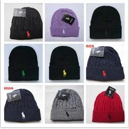 Men Women Beanie Caps new 18 Colors polo Autumn Winter Knitted Skull Caps  Fashion Beanies Warm Outdoor Hats gorro Crochet Casual Caps Bonnet c213fde094b7