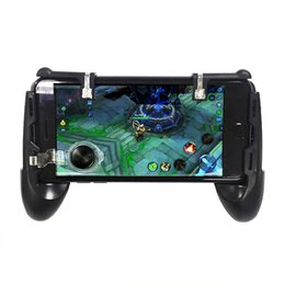 Game phones inch online shopping - Universal mobile game controller phone grip with joystick fire buttons for inch mobile phone Android IOS gamepad