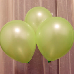 $enCountryForm.capitalKeyWord Australia - Light green ballon 10 inch 1.5 g pearl latex balloon birthday party decorations adult baloons wedding supplies inflatable toy