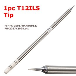 hakko soldering tips 2019 - T12-ILS Replace Solder Iron Tips Soldering Tips For HAKKO 942 950 951 952 202 203 204 206 Soldering