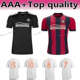 90d8ae6c6 MLS Atlanta United Soccer Jersey Men Team FC 24 GRESSEL 5 PIREZ 3 PARKHURST  16 McCANN 1 GUZAN Football Shirt Kits Make Custom