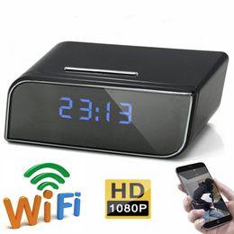 $enCountryForm.capitalKeyWord NZ - 1080P Wifi Alarm Clock Camera HD Nanny Cam Motion Detection Security Camera Night Vision DVR Indoor DV Camcorder for Android IOS Remote View