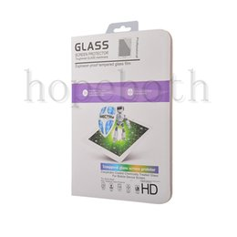 Wholesale For iPad Air Tempered Glass Screen Protector Guard Shield For New iPad Pro mini Samsung Tablet
