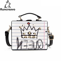 $enCountryForm.capitalKeyWord NZ - 2018 crossbody bags for women leather handbags luxury handbags women bags designer letter diamonds pearl rivet box sac a main