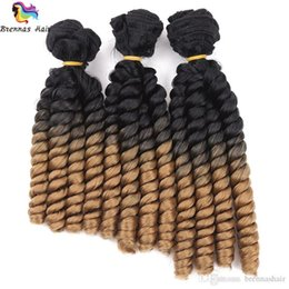 $enCountryForm.capitalKeyWord UK - rich colors with no fade 8-10inch twist braid hair weft fumi hair extension high quality ombre fumi spring curl 3pcs pack natural style