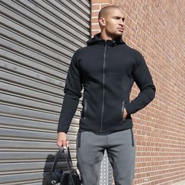 $enCountryForm.capitalKeyWord Canada - Jackets Men Sport Running Autumn Winter Warm Outwear Outdoor Body building Hooded Coats Brand Slim Mens Parka Jackets for Men