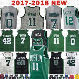 332133208 Boston 11 Kyrie Irving Celtics 7 Jaylen Brown Jersey 0 Jayson Tatum 12  Terry Rozier 33 Larry Bird 20 Gordon Hayward 42 Al Horford 36 Smart