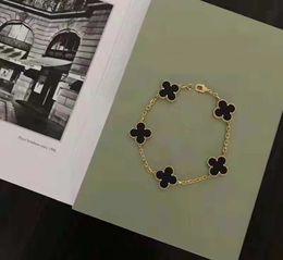 $enCountryForm.capitalKeyWord NZ - New fashion brand stainless steel leaf bracelet 18K gold rose silver butterfly shell bracelet suitable for couples gift ladies bracelet