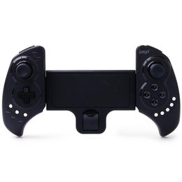 Gamepad controller ios online shopping - Wireless Bluetooth Game Controller Gamepad Joysticks for iPhone iPod iPad iOS System Samsung Galaxy Note Android Tablet