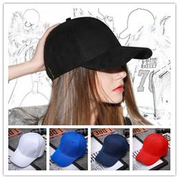 305fa1dd5 Designer 5 Panel Plain Cotton Adjustable Sports Baseball Caps Mens Womens  Summer Hats Blank Sports Sun Visor Golf Cap Skull Plain Cap
