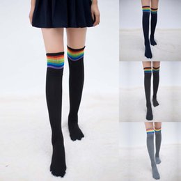 thigh high stocks 2019 - Women Winter Warm Cable Long Boot Socks Over Knee Thigh High Stocks High school Meias calca feminina Calcetines Collant