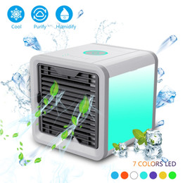 Wholesale NEW Air Cooler Arctic Air Personal Space Cooler The Quick Easy Way to Cool Any Space Air Conditioner Device Home Office Desk