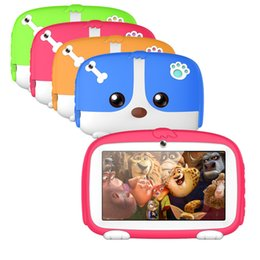 7 Wifi Tablet Australia - 2018 Kids Gift Tablet 7 Inch Android 6.0 TFT Display HD 1080P 1024x600 Quad Core Bluetooth Wifi 8GB 718
