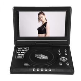 $enCountryForm.capitalKeyWord Canada - Freeshipping 270 Degree Rotatable 9 inch Portable DVD Player Video LCD Widescreen Support FM Radio Game SD USB CD VCD DOLBY and DTS Decoding