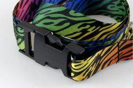 $enCountryForm.capitalKeyWord NZ - Rainbow Zebra Lanyards, ID card holder, Key Neck Strap Lanyard, Phone Neck Strap