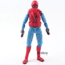 $enCountryForm.capitalKeyWord Canada - SHF S.H.Figuarts MARVEL Spider Man Action Figure Homecoming Spiderman Home Made Suit Ver. PVC Collectible Model Toy 14cm
