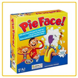 SportS Suit uniSex online shopping - Novel Tricky Desktop Interactive Toy Pie Face Cream Smashing Machine Parent Child Interaction Toys Gag Games Suit xy W