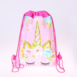 China Wholesale Festive Party Supplies Unicorn Gift Bag Wedding Birthday Party Favors Kids Back to School Gifts suppliers
