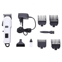 electric plastic cutter Australia - 2018 Special Offer Rushed Plastic free Shipping 110-240v Hair Clipper Stainless Steel Cutter Head Electric Clippers Lcd Rechargeable Radio