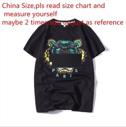 fea420eba744f0 2018 Summer Designer T Shirts For Men Tops Tiger Head Letter Embroidery T  Shirt Mens Clothing Brand Short Sleeve Tshirt Women Tops S-2XL