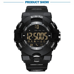 Discount digital wrist watch phone - Luminous Sports Smart Watch Digital GM313 Wrist with Men Bluetooth Electronic Sport Smartwatch For Android Phone iPhone