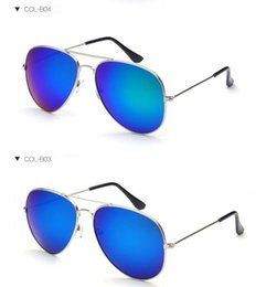 Chinese  3026 Polarized Sunglasses Classic Aviator Sun glasses for Men Women Driving glasses UV400 Metal Frame Flash Mirror polaroid Lenses A324 manufacturers