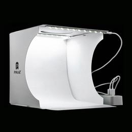 Опт 20 * 20 см 8 мини складной студия диффузный софтбокс лайтбокс со светодиодной подсветкой черный белый фотография фон фотостудия коробка