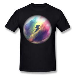 Wholesale thunder shirt for sale – custom On Sale Mens Cotton Fabric Thunder Storm T Shirt Mens Crew Neck Black Short Sleeve Tee Big Size Family T Shirt